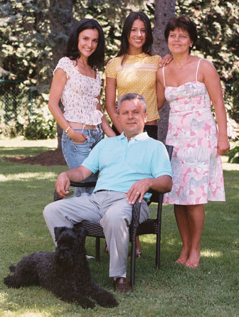 Dr. Michael Kiriac PhD and Family