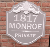 Personalize This Sign - Monroe