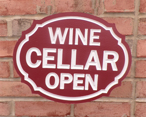 Personalize This Sign - Wine Cellar - Shape G