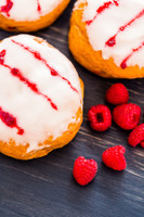 Raspberry Glazed Donut E Liquid