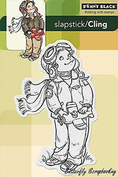 Air-boy, Cling Style Unmounted Rubber Stamp PENNY BLACK - NEW, 40-210