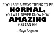 AMAZING Maya Angelou Quote Cling Unmounted Rubber Stamp MAGENTA C07935-I NEW