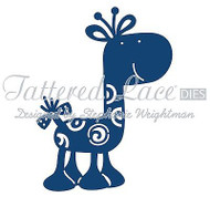 BABY GIRAFFE DIE Craft Die Cutting Die Tattered Lace Dies D569 New