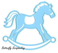 Baby Rocking Horse Die Cutting Die Marianne Design Creatables Die LR0347 New