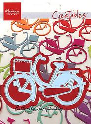 Bicycle with Basket Craft Steel Die by Marianne Design Creatables Die LR0233 New