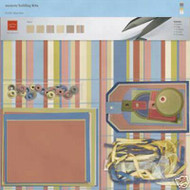 BILLARD Room Collection 12X12 Scrapbook Kit Chatter Box