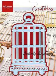 Bird Cage Craft Steel Die by Marianne Design Creatables Die LR0147 New
