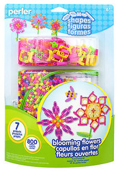 Blooming Flowers Fused Bead Kit EK SUCCESS Kids Craft Perler Beads NEW 80-56001