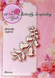 Bluebell Flowers Die Creative Steel Die Cutting Dies WILD ROSE STUDIO SD001 New