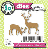Buck Deer Duo Set American Made Steel Dies by Impression Obsession DIE117-C New
