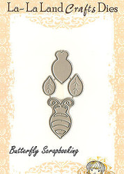 Build A BEE American made Steel Dies by La La Land Crafts DIE 8074 New