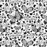 Butterflies Cover A Card Background Unmounted Rubber Stamp Impression Obsession