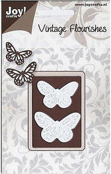 Butterflies Dies Craft Steel Cutting Die Joy! Crafts DIE # 6003/0033 New