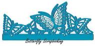 BUTTERFLY BORDER Die Craft Die Cutting Die Joy! Crafts 6002/0389 New