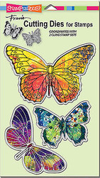 Butterfly Butterflies Dies Craft Die Cutiing Die Set Stampendous DCS5071 NEW