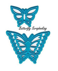 BUTTERFLY Butterflies Dies Craft Die Cutting Dies Joy! Crafts 6002/0390 New