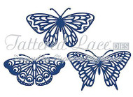 BUTTERFLY Butterflies Set DIE Craft Die Cutting Die Tattered Lace Dies D466 New