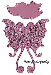BUTTERFLY Faerie Q American made Steel Dies by Cheery Lynn Designs DIE DL160 New