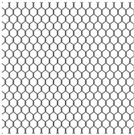 Chicken Wire Cover A Card Background Unmounted Rubber Stamp Impression Obsession