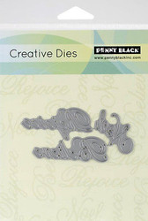 Christmas Words Believe Creative Steel Die Cutting Dies PENNY BLACK 51-060 New