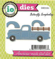 Classic Truck American Made Steel Die by Impression Obsession DIE218-I New