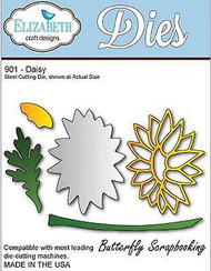 Daisy, Steel Cutting Die ELIZABETH CRAFT DESIGNS - NEW, #901