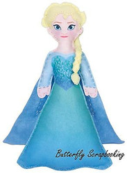 Disney FROZEN ELSA Felt Fun Sewing Embroidery Kit by Dimensions 72-74476 NEW