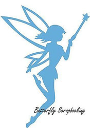 Elegant FAIRY Die Cutting Die Marianne Design Creatables Die LR0324 New
