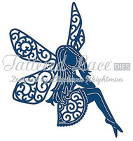 ELEGANT LACE TWINK FAIRY DIE Craft Die Cutting Die Tattered Lace Dies D572 New