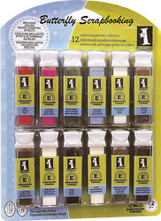 EMBOSSING POWDER COLLECTION BUNDLE 12 INKADINKADO NEW
