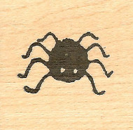 Fat Spider Halloween, Wood Mounted Rubber Stamp NORTHWOODS - NEW, A8177