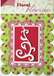 FLOURISH Die Craft Steel Cutting Die Joy! Crafts DIE # 6003/0002 New