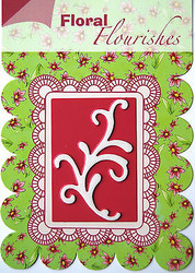 FLOURISH Die Craft Steel Cutting Die Joy! Crafts DIE # 6003/0003 New