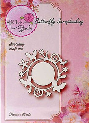 Flower Circle Die Creative Steel Die Cutting Dies WILD ROSE STUDIO SD007 New