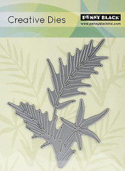 Fresh Breeze Fern Die Creative Steel Dies PENNY BLACK 51-046 New