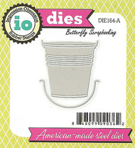 Garden Pail Bucket American Made Steel Die by Impression Obsession DIE164-A New