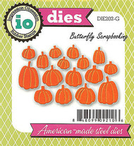 Halloween Pumpkins American Made Steel Die by Impression Obsession DIE202-G New