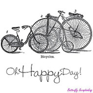 Happy Day, Cling Style Unmounted Stamp UNITY STAMP, INC. - NEW, IB-AP-261