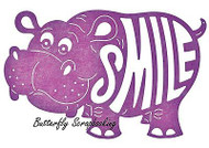 HIPPO SMILE Happy Hippo Die Steel Die Cutting Die CHEERY LYNN DESIGNS B561 New