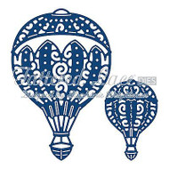 HOT AIR BALLOONS Set DIES Craft Die Cutting Die Tattered Lace Dies D747 New