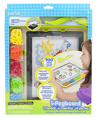 I-Pegboard 'N Beads Fused Bead Kit EK SUCCESS Kids Craft Beads NEW 80-54147