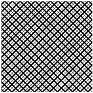 LATTICE Cover A Card Background Unmounted Rubber Stamp IO Stamp CC202 New