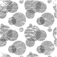 Mesh Cir Cover A Card Background Unmounted Rubber Stamp Impression Obsession New