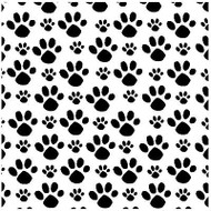 PAWPRINTS Cover A Card Background Unmounted Rubber Stamp IO Stamp CC211 New