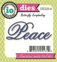 PEACE American made Steel Dies by Impression Obsession DIE226-A New