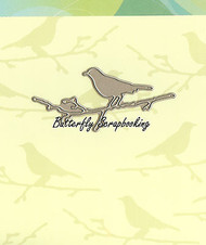 Perched Bird, Creative Steel Dies PENNY BLACK - NEW, 51-031