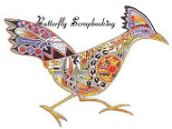 ROADRUNNER Animal Spirit Cling Unmounted Rubber Stamp EARTH ART Sue Coccia New