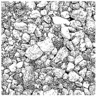 Rock Stones Cover A Card Background Unmounted Rubber Stamp Impression Obsession