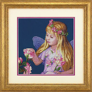 Rose Flower Fairy Counted Cross Stitch Dimensions Cross Stitch Kit NEW