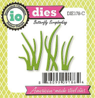 Sea Grass Set American Made Steel Dies by Impression Obsession DIE178-C New